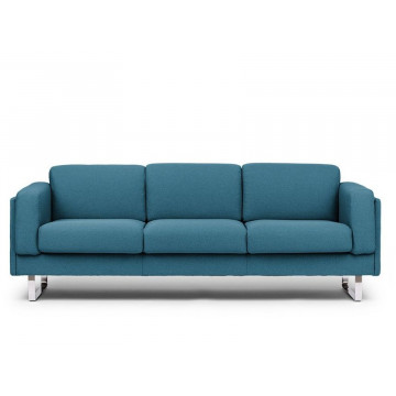 Azure Blue 3-Seater Sofa