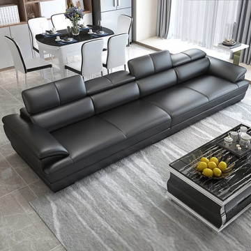 sleek italian 4 seater sofa
